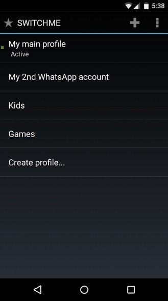 Mode invité sous Android