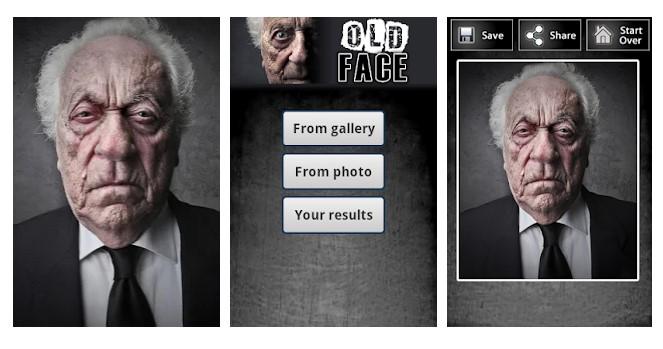 Old Face - meilleure alternative à FaceApp