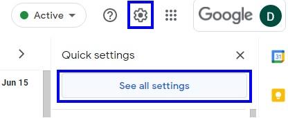 Ouvrez n'importe quel navigateur et lancez Gmail.