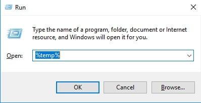 Supprimer les fichiers temporaires