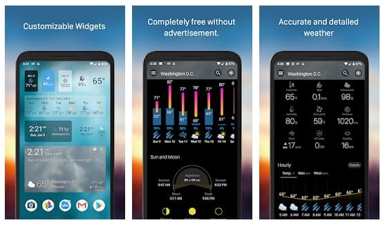 Waouh - meilleur widget Android
