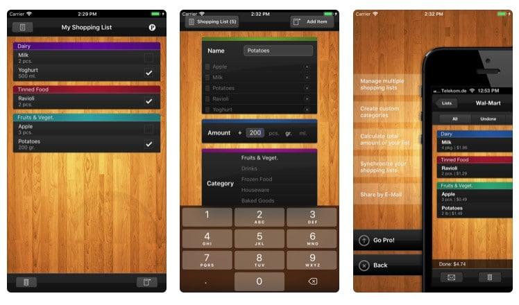 applications de cuisine pour iPhone