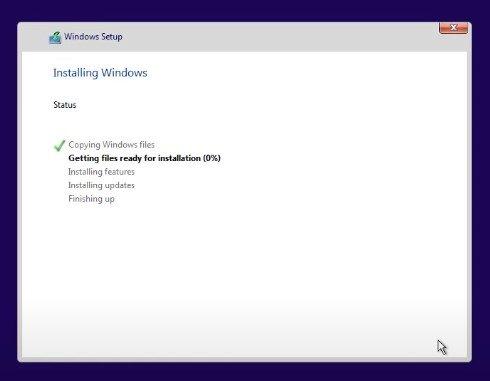 comment installer la fuite de Windows 11