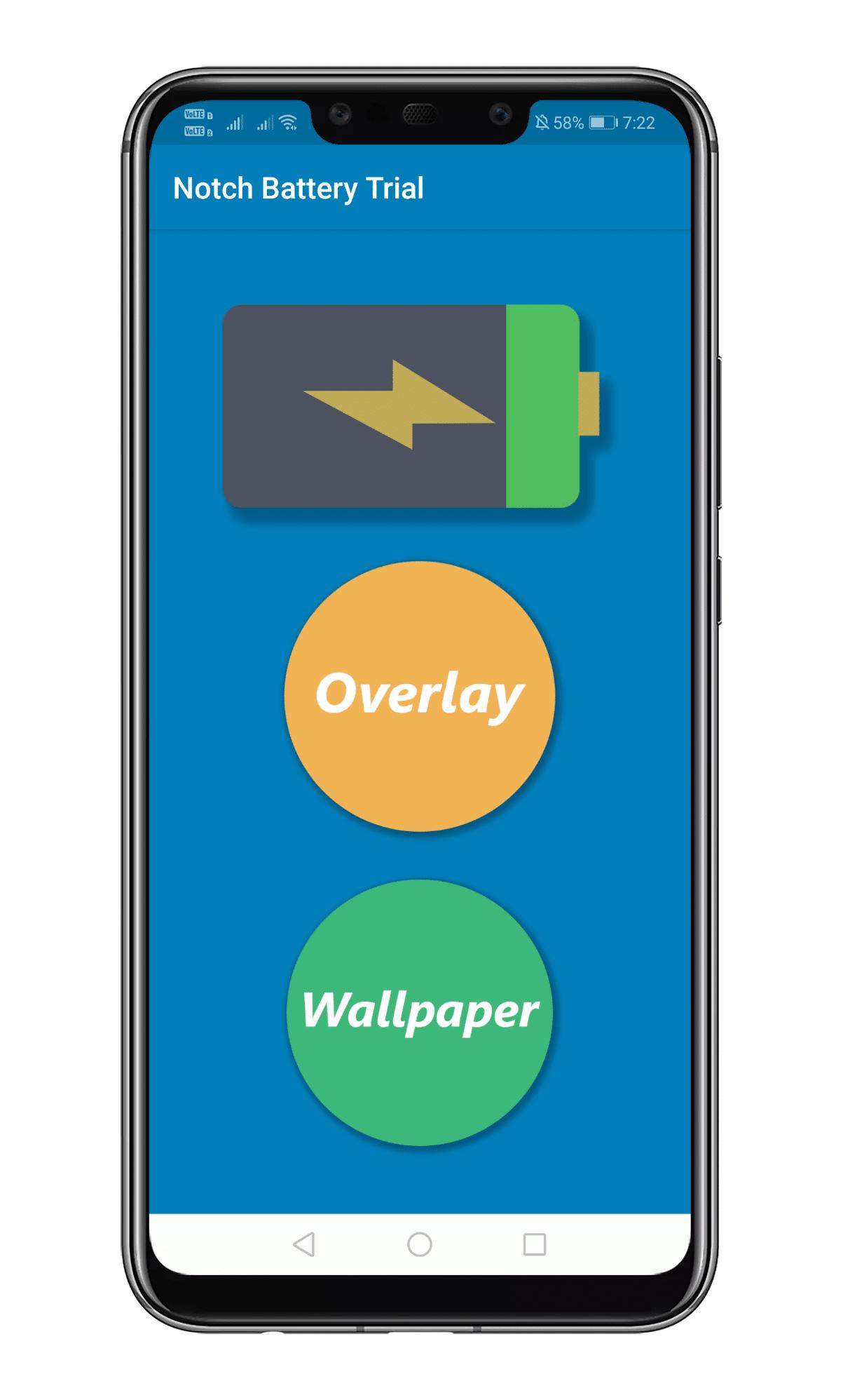 comment transformer l'encoche en indicateur de batterie