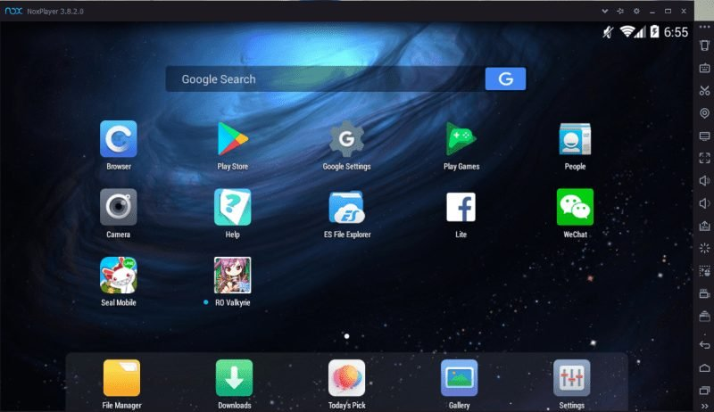 émulateurs Android pour PC