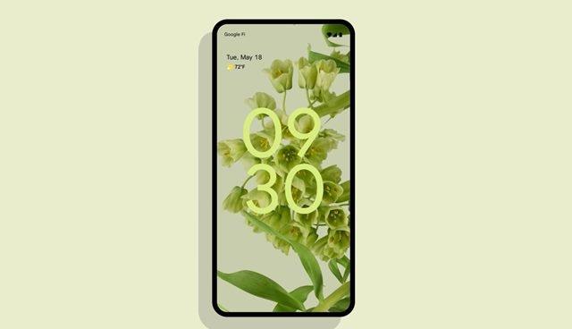 fonds d'écran et icônes Android 12