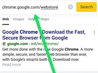 installer des extensions Chrome sur Android