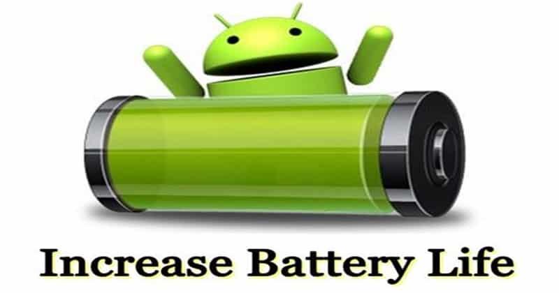 la batterie sur les smartphones Android