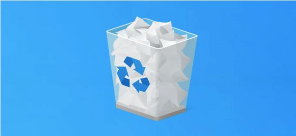 réparer l'erreur d'association de la corbeille sur Windows 10