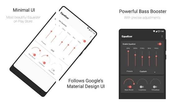 meilleures applications d'égaliseur pour Android